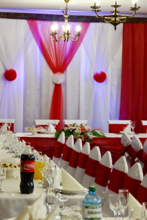Оформлення залів на весілля Ужгород