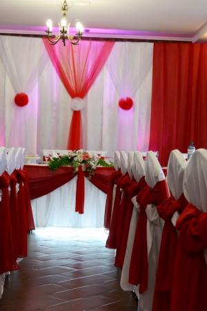 Оформление зала на свадьбу Ужгород